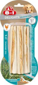 8in1 Dental Delights sticks Hondensnack - 3 Stuks