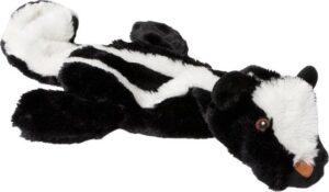 Adori Speeltje Skinny Das Met Piep 52 cm Zwart Wit