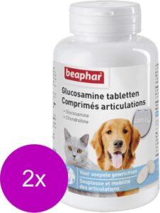Beaphar Glucosamine Tabletten - Voedingssupplement - Gewrichten - Spieren