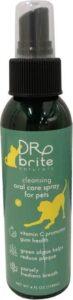 Dr Brite Pet Pure Bio Tandspray Hond tegen tandsteen, plak en slechte adem
