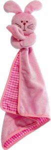Flamingo Pluche Cuddle Konijn - Hondenspeelgoed - 39 cm - Roze
