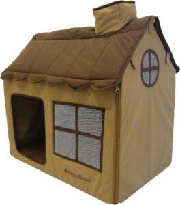 Honden-Katten villa bruin