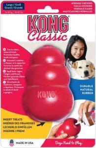 Kong - Hondenspeelgoed - Rood - L