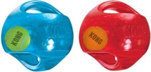 Kong Jumbler Ball - Assorti hondenspeelgoed - L-XL - Ø18 cm
