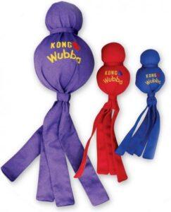 Kong Wubba XL - Piepend speelgoed - Multi - Hondenspeelgoed