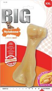 Nylabone Big Chew kauwbot - kipsmaak - Hond Zwaarder dan 23 kg