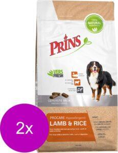 Prins Procare Lam & Rijst - Hondenvoer - 2 x 3 kg