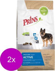 Prins Procare Super Active - Hondenvoer - 2 x 3 kg