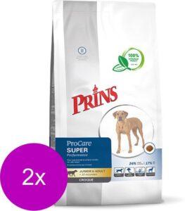Prins procare croque super performance hondenvoer 2x 10 kg