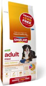 Smolke adult maxi bonus bag hondenvoer 12+3 kg