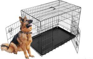 Topmast Hondenbench zwart