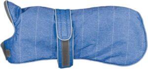 Trixie Belfort Winter Coat Blue Hondenjas