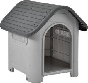 [en casa® Hondenhok - hondenhuis - kunststof
