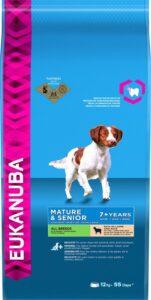 Eukanuba Dog Mature & Senior - All Breeds - Lam-Rijst - Hondenvoer - 12 kg