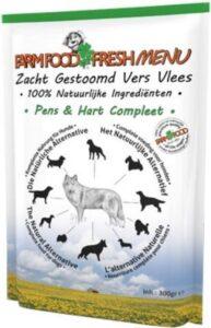 Farm Food Fresh Menu - Pens & Hart - Hondenvoer