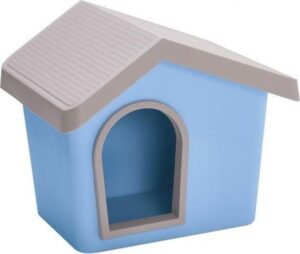 Imac hondenhok zeus 50 licht blauw 53x46x47,5 cm
