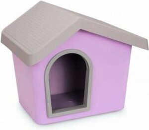 Imac hondenhok zeus 50 roze 53x46x47,5 cm
