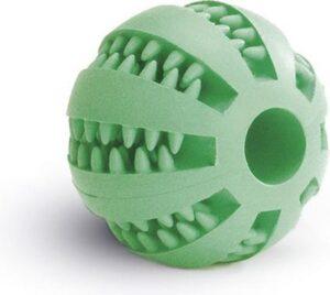 Beeztees Rubber Massagebal Voor Tanden - Groen - Hondenspeelgoed