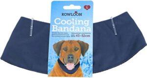 Cool bandana donkerblauw -verstelbaar - L -43-52 cm