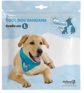Coolpets Koelbandana Petrol - Hondenverkoeling - Large