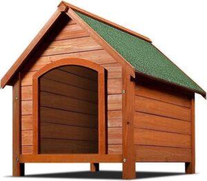 Deuba Hondenkennel met puntdak - 82x72 x85 cm