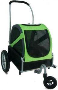 DoggyRide mini buggy (groen)