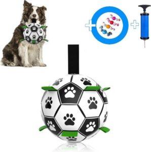 Honden speelgoed Bal Extra Sterk Met Handvaten 15 cm - Dutchwide®