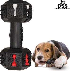Honden speelgoed -Dumbbell -Geschikt voor kleine en middelgrote honden