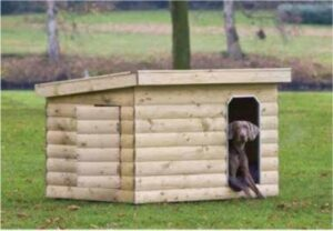 Hondenverblijf Bulldog - L150xD120xH110 cm