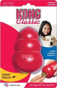 Kong Kauwbot - Hondenspeelgoed - Rood - XXL