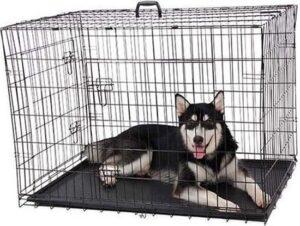 Topmast Hondenbench STRONG zwart - 91 x 57 x 64cm - Stevige Lade