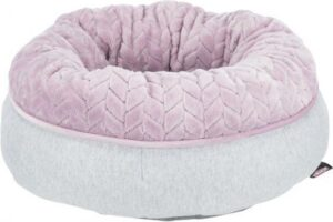 Trixie Junior Hondenmand Donut Lichtgrijs - Lila 40X40 CM