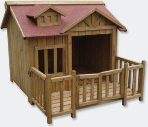 houten hondenhok kopen