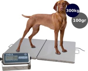 Dierenweegschaal XL 300kg x 100gr