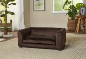 Enchanted hondenmand - sofa cookie bruin 67,5 x 40,5 x 25,5 cm