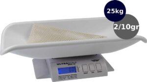 My Weigh - Babyweegschaal - Ultra 25 kg x 2gr-10gr
