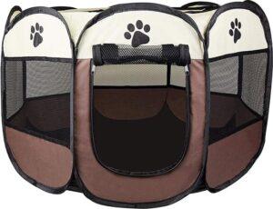 Rexa® Puppyren Opvouwbare puppytent hondenren dierenloopstal