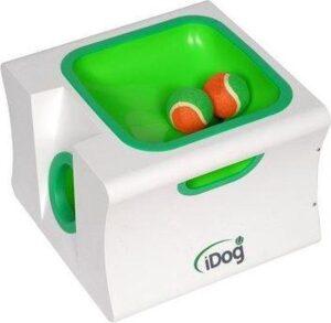 Automatische Ballenwerper- Ballenschieter-Hond-Mini-Dierenspeelgoed