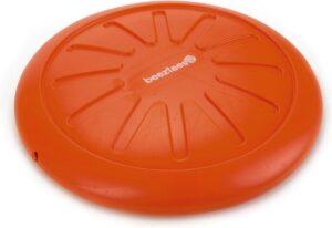 Beeztees TPR apportino frisbee + piep oranje 20 cm