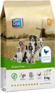 Carocroc Grain Free - Hondenvoer - 3 kg