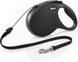 Flexi New Classic - Leiband - Zwart - M - 8M