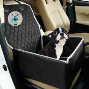 Honden autostoel franse bulldog - Hoge Kwaliteit - 50cm x 48cm