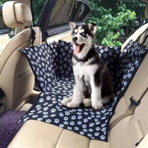 Hondenstoel- auto zitbak- Autostoel hond en kat - Zwart