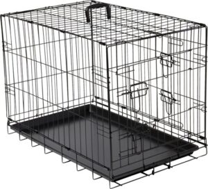 Hondenbench Zwart L 92x57x64 centimeter